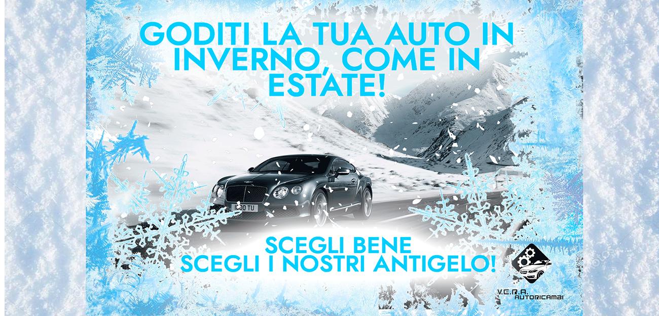 Antigelo Vera, per goderti l'auto, d'inverno come d'estate.